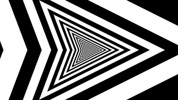 Concentric oncoming right arrow — Vidéo
