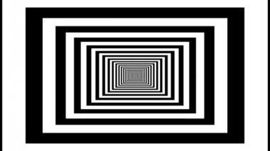 Endless tunnel of rectangles — Stock Video