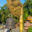 Buddha bell in the temple — Stock Photo #75939245