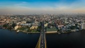 Rama viii мост панорамный вид — Стоковое фото