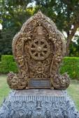 Northern Thailand temple decoration — Stock Photo