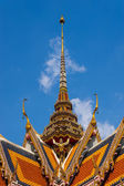 Traditional temple roof pagoda — Stock fotografie