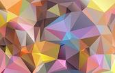 Polygonal mosaic background, Vector illustration,  Business design templates — Stockvektor
