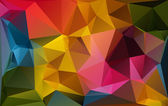 Colorful polygonal mosaic background, Vector illustration,  Business design templates — Stock Vector