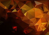 Dark Orange Light Polygonal Mosaic Background, Vector illustration,  Business Design Templates — Stock Vector