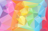 Celebration Beautiful Polygonal Mosaic Background, Vector illustration,  Creative  Business Design Templates — Διανυσματικό Αρχείο
