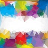Celebration Festival Beautiful Polygonal Mosaic Background, Vector illustration,  Creative  Business Design Templates — Stock Vector
