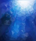 Blue White  Polygonal Mosaic Background, Vector illustration,  Creative  Business Design Templates — Stockvektor