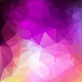 Colorful Polygonal Mosaic Background, Vector illustration,  Creative  Business Design Templates — Vector de stock