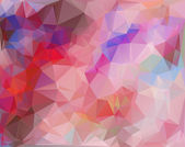 Colorful Polygonal Mosaic Background, Vector illustration,  Creative  Business Design Templates — Vettoriale Stock