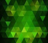 Green Grid Mosaic Background, Creative Design Templates — Stock Vector