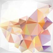 Colorful Polygonal Mosaic Background, Vector illustration,  Creative  Business Design Templates — Stock Vector