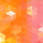 Orange hellen Mosaik-Hintergrund, kreative Design-Vorlagen — Stockvektor
