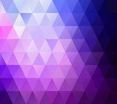 Contexto do mosaico de grade roxo, modelos de Design criativo — Vetor de Stock