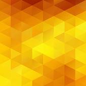 Yellow Grid Mosaic Background, Creative Design Templates — Stock Vector