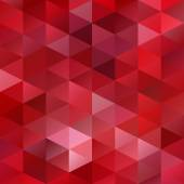 Red Grid Mosaic Background, Creative Design Templates — Stock Vector