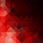 Mozaika pozadí červené tabulky, kreativní Design šablony — Stock vektor