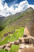 马丘比丘印加城 (秘鲁) — 图库照片