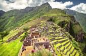 Inca city Machu Picchu (Peru) — Stock Photo