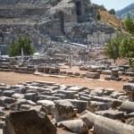 EPHESUS, TURKEY - AUG 01: visitors in Curetes street on August 0 — Stock Photo #62907321