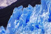 Zdjęcie zrobione w lodowiec perito moreno w Patagonii (polskiego pochodzenia — Zdjęcie stockowe