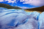 Picture captured in Perito Moreno Glacier in Patagonia (Argentin — Fotografia Stock