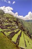 Inka staden machu picchu (peru) — Stockfoto