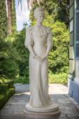 Statue of Sisi, Elisabeth of Bavaria, in Corfu, Greece — Stock Photo