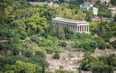 View from the Acropolis in Athens, Greece — Stock fotografie