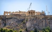 Acropoli di atene, grecia — Foto Stock