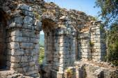 View of ruins in Kaunos ancient city (Turkey) — Stock Photo