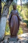 Statue of the Virgin Mary in Ephesus, in front of her house  — Stock Photo