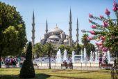 Turkey, Istambul, Blue Mosque — Stock Photo