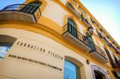 MALAGA - MAY 15: The Pablo Picasso Fundation Birthplace Museum i — Stock Photo
