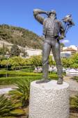 Malaga in Andalusia, Spain. Sculpture — Stock Photo