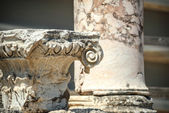Turkey, Ephesus, ruins of the ancient roman city — Stock Photo