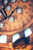 ISTANBUL, TURKEY - MAY 5, 2014: Beautiful decorated interior of — Stock Photo