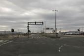 Mpty crossroads — 图库照片