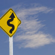 Winding Road Sign — Stock Photo #61670075