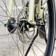 Bike front wheel — Stock Photo #77614732