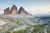 Tre cime di Lavaredo (Dolomiti) — Stockfoto