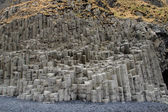 Basalt column Reynisfjara beach Iceland — Stock Photo