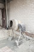 The cement mixer — Стоковое фото