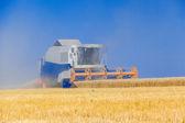 Combine harvester working  — Stock Photo