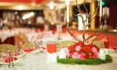 Table servi au restaurant — Photo