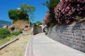 Street in Montenegro — Stock Photo
