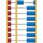 Wooden Abacus Illustration — Stock Photo #65084881