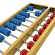 Wooden Abacus Illustration — Stock Photo #65091333