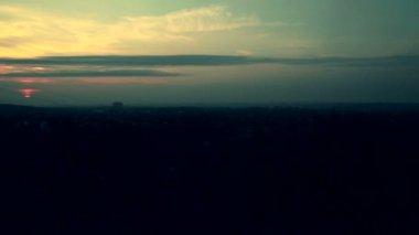 The urban sunrise timelapse — Stock Video