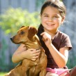The dog is my best friend — Stock Photo #58932945